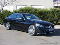 2015 C400 4-door all-wheel-drive sport sedan in black
