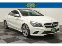 CARFAX One-Owner. Cirrus White 2015 Mercedes-Benz CLA