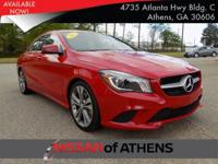 Come see this 2015 Mercedes-Benz CLA-Class CLA250. Its