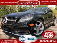 This Lovely Black 2015 Mercedes-Benz CLS 400 4Matic