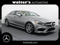 Options:  2015 Mercedes Cls 400|Palladium Slvr/Black