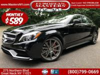 This Incredible Black 2015 Mercedes-Benz CLS63P 4Matic