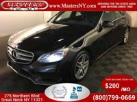 This Amazing Black 2015 Mercedes-Benz E350 4Matic Sport