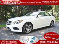 This Beautiful White 2015 Mercedes-Benz E350 4Matic