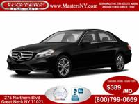 This Wonderful Black 2015 Mercedes-Benz E350 Sport
