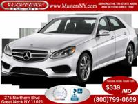 This Amazing White 2015 Mercedes-Benz E350 Sport 4Matic