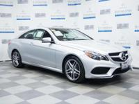 Check out this gently-used 2015 Mercedes-Benz E-Class