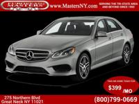 This Beautiful Silver 2015 Mercedes-Benz E350 Sport