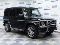 This 2015 Mercedes-Benz G-Class G63 AMG is offered to