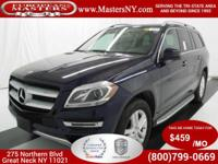 This Amazing Blue 2015 Mercedes-Benz GL450 4Matic Sport