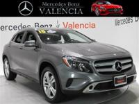 Grey 2015 Mercedes-Benz GLA GLA 250 4MATIC 4D Sport