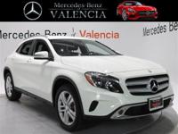 White 2015 Mercedes-Benz GLA GLA 250 4MATIC 4D Sport