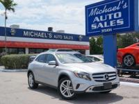 Options:  2015 Mercedes-Benz Gla Gla 250|Silver|Polar