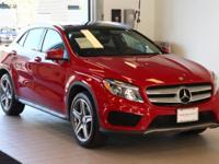 This 2015 Mercedes-Benz GLA250 is equipped with: 4MATIC