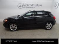 Clean CARFAX. 2015 Mercedes-Benz GLA 250 4MATIC Black