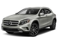 2015 Mercedes-Benz GLA 250  Options:  4.13 Axle