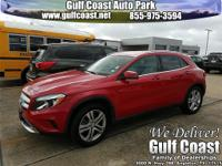 CLEAN CARFAX and **CARFAX 1 OWNER**. Turbocharged! Red