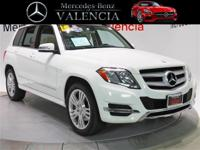 Clean CARFAX. Certified. White 2015 Mercedes-Benz GLK