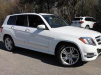 This 2015 Mercedes-Benz GLK 350 in Polar White