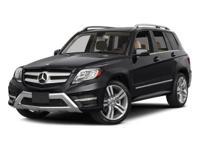 Options:  2015 Mercedes Glk 350|Iridium Silver/Black Mb