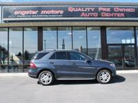 Options:  2015 Mercedes M-Class Ml250 Bluetec|Dark