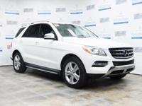 This 2015 Mercedes-Benz M-Class ML 350 is proudly