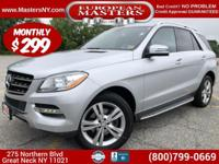 This Lovely Silver 2015 Mercedes-Benz ML350 4Matic