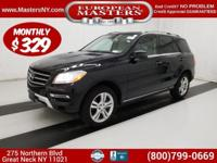 This Amazing Black 2015 Mercedes-Benz ML350 4Matic