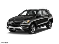 This BLK 2015 Mercedes-Benz M-Class ML350 4MATIC might