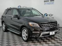 This 2015 Mercedes-Benz M-Class ML350 is offered to you