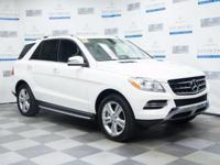 This 2015 Mercedes-Benz M-Class ML 350 is offered to