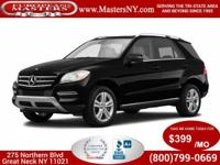 This Wonderful Black 2015 Mercedes-Benz ML350 4Matic