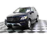 CERTIFIED 2015 Mercedes-Benz ML350 4Matic AWD SUV with