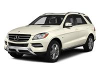Check out this gently-used 2015 Mercedes-Benz M-Class