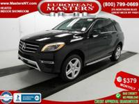 This Amazing Black 2015 Mercedes-Benz ML 400 4Matic