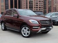 Thank you for viewing this MAGNIFICENT ML350! Features