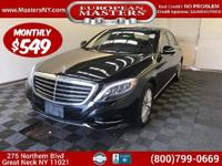 This Gorgeous Black 2015 Mercedes-Benz S550 4Matic