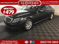 This Incredible Black 2015 Mercedes-Benz S550 4Matic