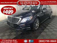 This Lovely Black 2015 Mercedes-Benz S550 4Matic Comes