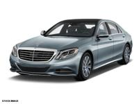This SILVER 2015 Mercedes-Benz S-Class S 550 4MATIC