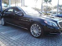 Call about this ***Certified Pre-Owned*** 2015 S550