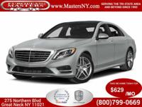 This Beautiful Silver 2015 Mercedes-Benz S550 4Matic