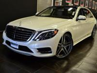 This 2015 Mercedes-Benz S-Class 4dr 4dr Sedan S 550