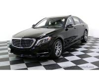 CERTIFIED 2015 Mercedes-Benz S550 4Matic AMG Sport