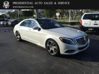 This 2015 Mercedes-Benz S-Class 4dr 4dr Sedan S 550 RWD