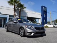 S 550 trim. CARFAX 1-Owner, Mercedes-Benz Certified,