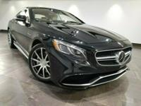This 2015 Mercedes-Benz S 63 AMG Coupe is featured in