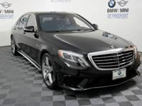Check out this gently-used 2015 Mercedes-Benz S-Class