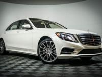 Recent Arrival! 2015 Mercedes-Benz S-Class. This