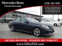 Mercedes-Benz Certified, One Owner Clean Carfax, Sport